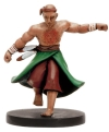 Lion Falcon Monk Miniature