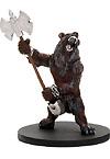 Dwarven Werebear Miniature