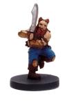 Dwarf Barbarian Miniature