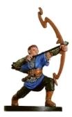 Half-Elf Bow Initiate Miniature