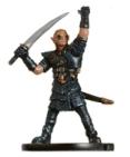 Half-Elf Hexblade Miniature