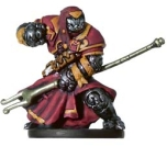 Warforged Wizard Miniature