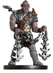Rask, Half-Orc Chainfighter Miniature