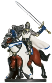 Mounted Paladin Miniature