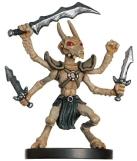 Thri-Kreen Barbarian Miniature
