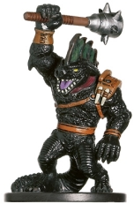 Blackscale Lizardfolk Miniature