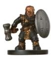 Gold Dwarf Soldier Miniature
