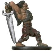 Half-Ogre Barbarian Miniature