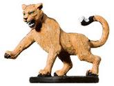 Hunting Cougar Miniature