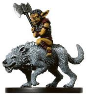 Snig, Worg Rider Miniature