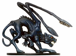 Displacer Beast Pack Lord Miniature