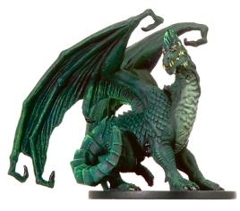Large Green Dragon Miniature