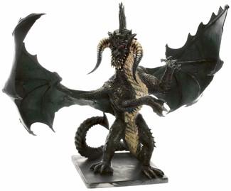 Gargantuan Black Dragon Miniature