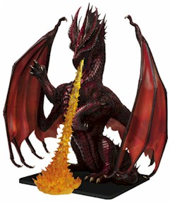 Colossal Red Dragon Miniature