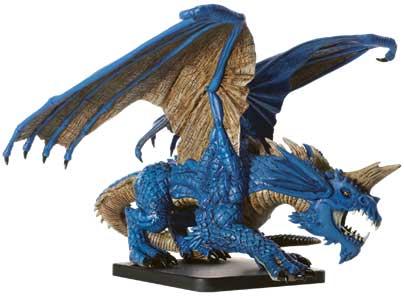 Gargantuan Blue Dragon Miniature