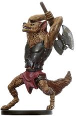 Gnoll Barbarian Miniature