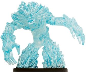 Large Ice Elemental Miniature