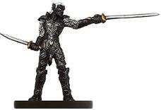 Drow Blademaster Miniature