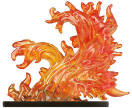 Large Fire Elemental Miniature