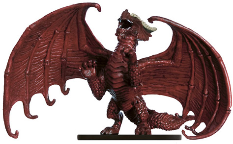 Young Red Dragon Miniature
