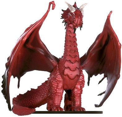 Elder Red Dragon Miniature