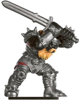 Fire Giant Raider Miniature