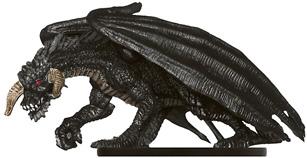 Black Dragon Lurker (Young) Miniature