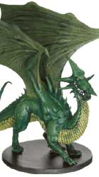 Young Green Dragon Miniature