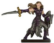 Female Eladrin Fighter Miniature