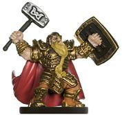 Male Dwarf Paladin Miniature