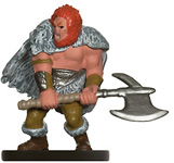 Male Human Barbarian Miniature