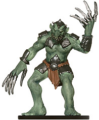 Bladerager Troll Miniature