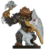 Male Dragonborn Warlord Miniature