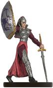 Female Human Warlord Miniature