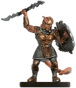 Male Tiefling Fighter Miniature