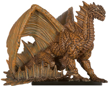 Adult Brown Dragon Miniature