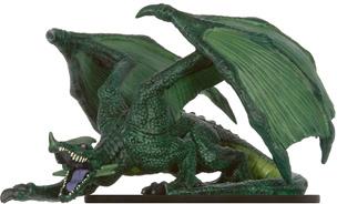 Elder Green Dragon Miniature