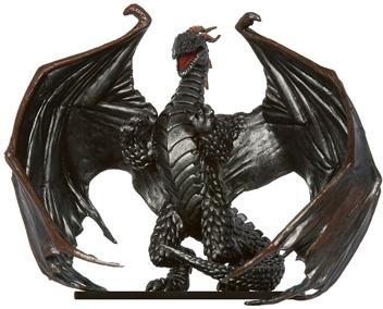 Elder Iron Dragon Miniature