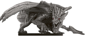 Adult Gray Dragon Miniature