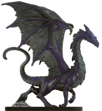 Adult Purple Dragon Miniature