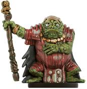Bullywug Mud Lord Miniature