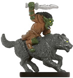 Goblin Wolf Rider Miniature