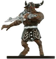 Savage Minotaur Miniature